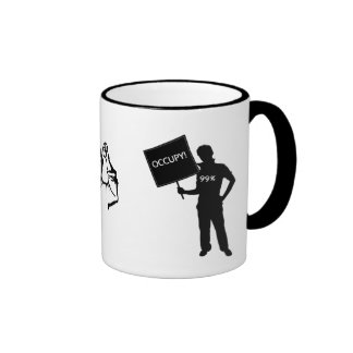 Occupy!  We Are The 99% Ringer Mug