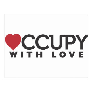 occupy-with-love post cards