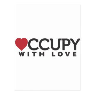 occupy-with-love postcard