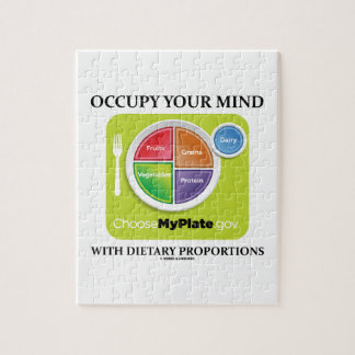 Occupy Your Mind With Dietary Proportions MyPlate Puzzle