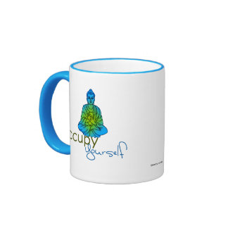 Occupy Yourself: Blue Mugs