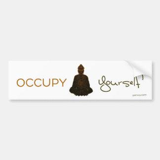 Occupy Yourself Bumper Sticker