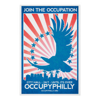 OccupyPhilly - Eagle - Join the Occupation! Poster