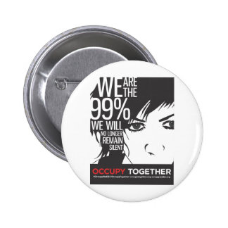OccupyTogether_poster01 2 Inch Round Button