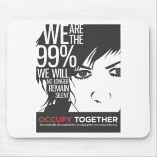 OccupyTogether_poster01 Mouse Pad