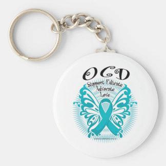OCD Butterfly 3 Keychain