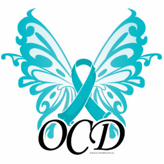 OCD Butterfly Ribbon Cutout