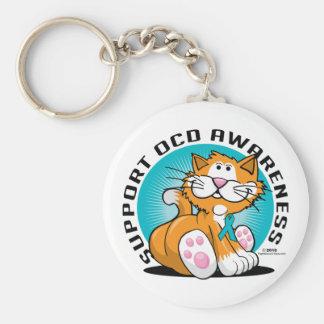 OCD Cat Keychain