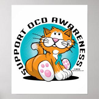 OCD Cat Poster
