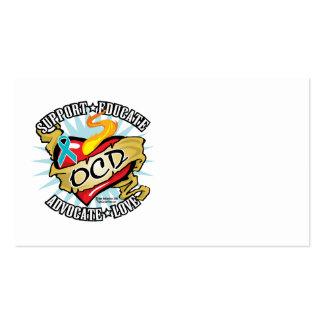 OCD Classic Heart Business Card