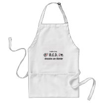 OCD Cow Adult Apron