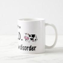 OCD Cow Coffee Mug