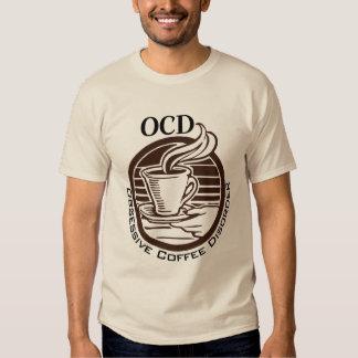 OCD: Desorden obsesivo del café Remera