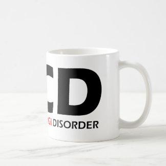 OCD - Desorden obsesivo del Corgi Taza De Café