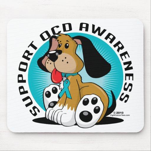 OCD Dog Mouse Pad