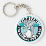 OCD Fighter Cat Key Chain