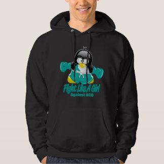 OCD Fighting Penguin Hoodie