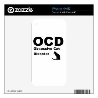 OCD iPhone 4S DECALS