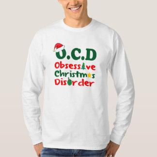 OCD, OBESESSIVE CHRISTMAS DISORDER T-Shirt