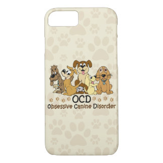 OCD Obsessive Canine Disorder iPhone 7 Case