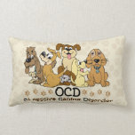 OCD Obsessive Canine Disorder Pillow