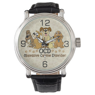 OCD Obsessive Canine Disorder Wrist Watches