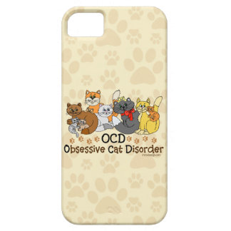 OCD Obsessive Cat Disorder iPhone 5 Cover