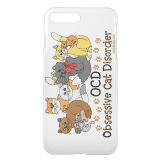 OCD Obsessive Cat Disorder iPhone 7 Plus Case