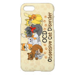 Ocd Obsessive Cat Disorder Iphone 8/7 Case at Zazzle