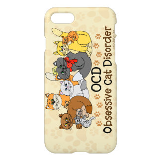 OCD Obsessive Cat Disorder iPhone 8/7 Case