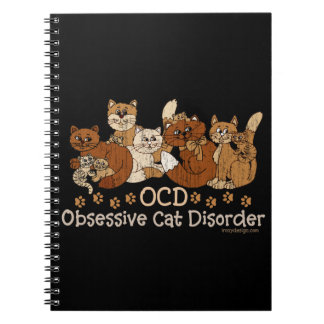 OCD Obsessive Cat Disorder Notebook