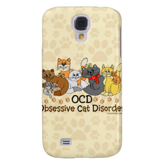 OCD Obsessive Cat Disorder Samsung Galaxy S4 Case