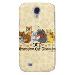 OCD Obsessive Cat Disorder Samsung Galaxy S4 Cover