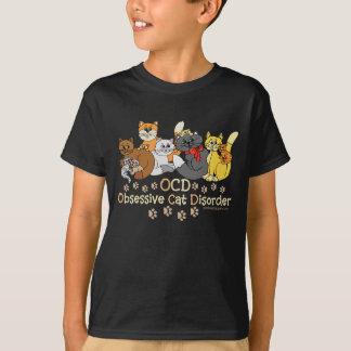 OCD Obsessive Cat Disorder Saying T-Shirt