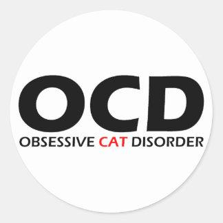 OCD - Obsessive Cat Disorder Sticker