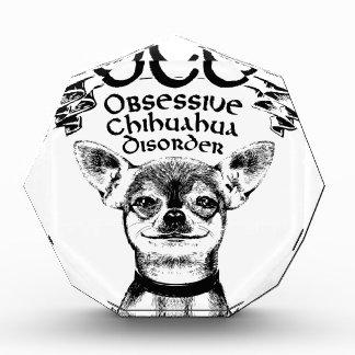 OCD obsessive chihuahua Award