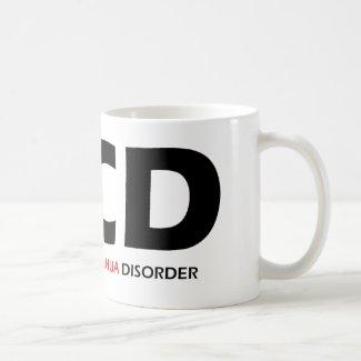 OCD - Obsessive Chihuahua Disorder Classic White Coffee Mug