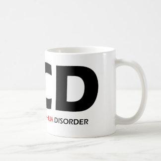 OCD - Obsessive Chihuahua Disorder Coffee Mug