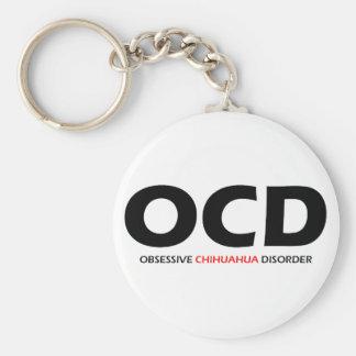 OCD - Obsessive Chihuahua Disorder Keychain