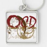 OCD - Obsessive Coffee Disorder Gifts Keychain