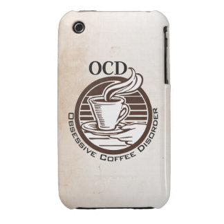OCD: Obsessive Coffee Disorder iPhone 3 Covers