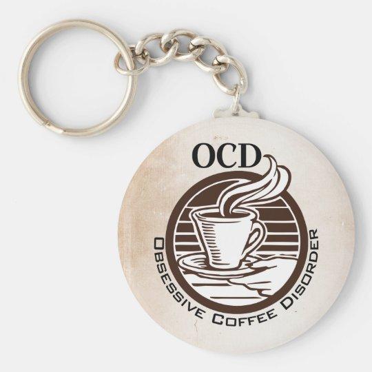 OCD: Obsessive Coffee Disorder Keychain