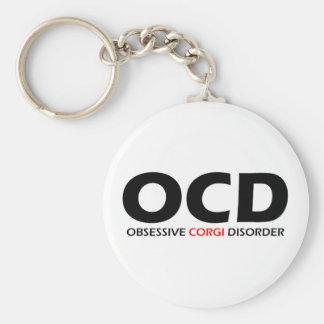 OCD - Obsessive Corgi Disorder Keychain