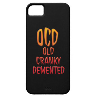 OCD Old Cranky Demented Cell Phone Cases iPhone SE/5/5s Case