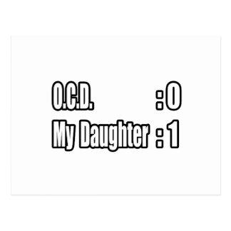 OCD Scoreboard (Daughter) Postcard