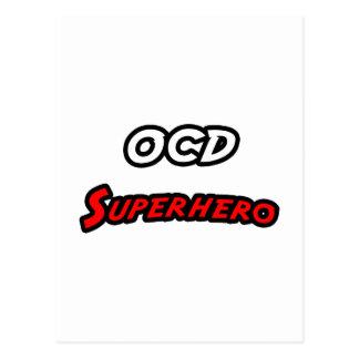 OCD Superhero Postcard
