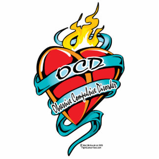 OCD Tattoo Heart Statuette