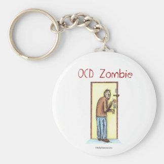 OCD Zombie Keychain