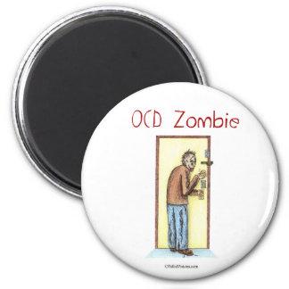 OCD Zombie 2 Inch Round Magnet
