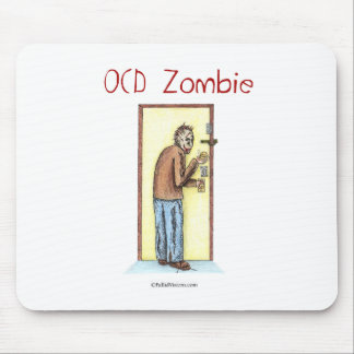 OCD Zombie Mouse Pad